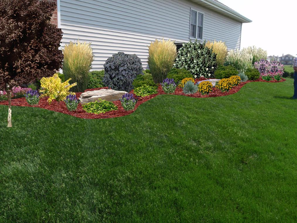 landscaping designs side of house pdf
